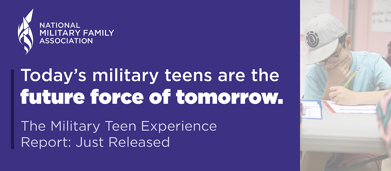 The Military Teen Experience Report - Just Released