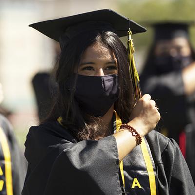 Masked graduate - reasons to celebrate400x400