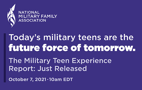 National Military Family Association and Bloom Partner on First of Its Kind Survey for Military Teen by Military Teens